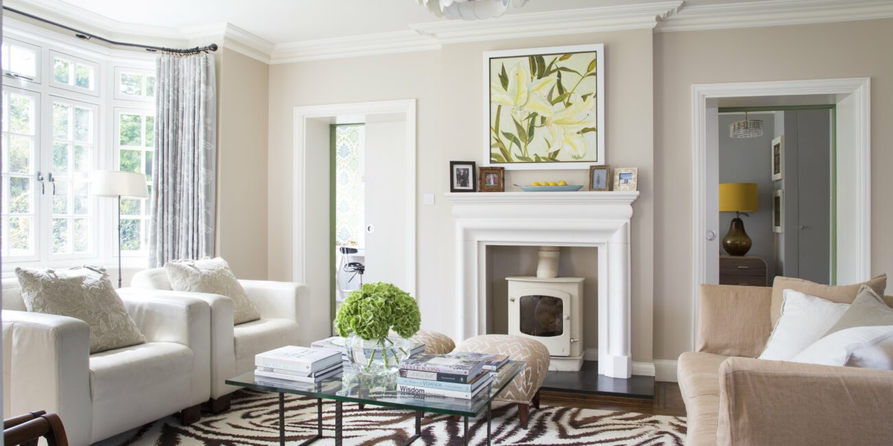 Living room in Family house renovation, East Molesey