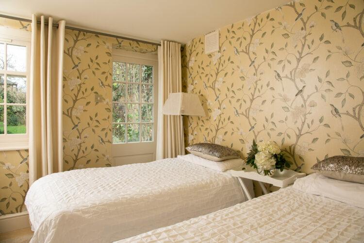 Bedroom design in period Property renovation in Twickenham