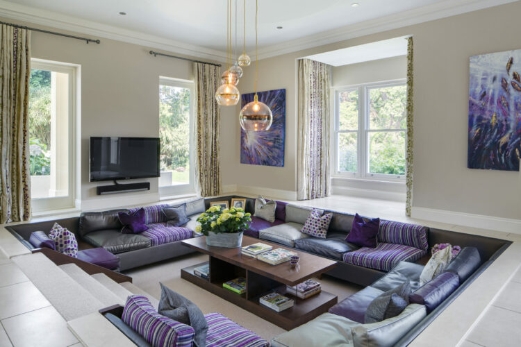 new build house in Esher